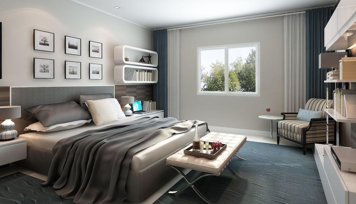 Architecte et d corateur d int rieur bas chiang mai en for Chambre a coucher hotel