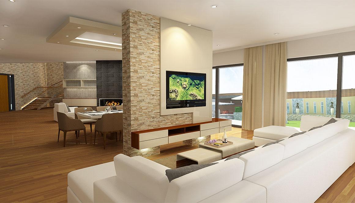 Stunning Decor Villa Interieur Contemporary - Matkin.info - matkin ...